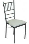 Silver Vein Metal Chiavari Chair