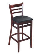Ladder Back Bar Stool