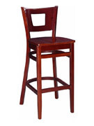 Duna Wood Bar Stool