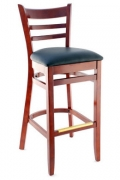 Premium US Made Ladder Back Bar Stool
