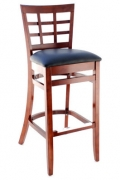 Premium US Made Window Back Bar Stool