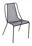 Modern Metal Mesh Patio Chair