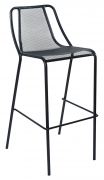 Modern Metal Mesh Patio Bar Stool