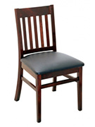 Designer Series Logan Vertical Slat Chair