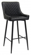 Maal Diamond Stitch Upholstered Bar Stool