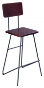 Mantis Industrial Style Metal Bar Stool