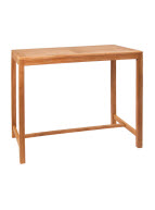 Teak Wood Outdoor Restaurant Table - Bar Height