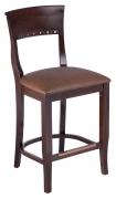 Premium US Made Beidermeir Wood Counter Stool