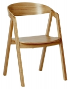Adelmo Wood Restaurant Chair