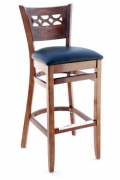 Premium US Made Leonardo Wood Bar Stool