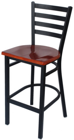 Ladder Back Metal Bar Stool Restaurant Furniture Canada
