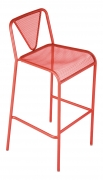 Clarius Metal Patio Bar Stool