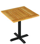 Patio Cedar Table Set - Table Height