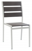 White Aluminum Patio Chair