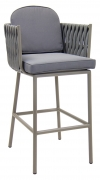 William Aluminum Bar Stool