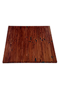 Rustic Solid Wood Butcher Block Table Top